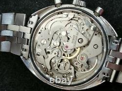 Heuer Chronographe Vintage Leonidas Valjoux 7734 Course