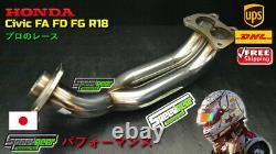 Honda CIVIC Fd1 Fg1 Fa1 R18a1 En-tête D'échappement 1,8l Extracteur Sport Racing 06-11