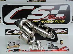 Honda Cbr1000rr 2008-11 Silencieux D'échappement Cs Racing Db Killer Cliquez Pour La Vidéo