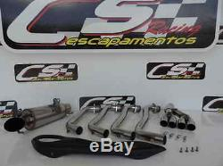 Honda Cbr650f / Cb650f 2014-19 Systèmes D'échappement + Tête Cs Racing