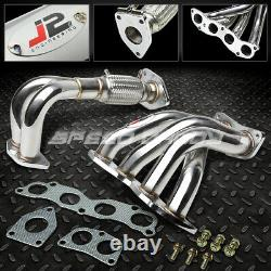 J2 Acier Inoxydable Racing Manifold Header/exhaust 04-08 Acura Tsx Cl9 2.4l K24a2