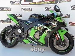 Kawasaki Ninja Zx-10r Zx10rr Cs Racing Slip-on Exhaust Amazing Sound 2016-2020 Kawasaki Ninja Zx-10r Cs10rr Cs Racing Slip-on Exhaust Amazing Sound