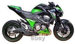 Kawasaki Z800 2013-16 Slip-on Muffler Exhaust Db Killer Cs Racing Cliquez Vidéo