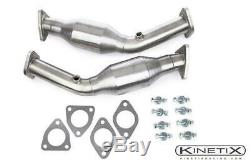 Kinetix Racing Haut Débit Convertisseurs Catalytiques Pour La Période 2003-2006 Nissan 350z Vq35de