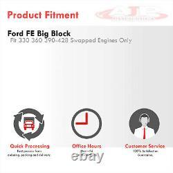 Kit D'en-tête D'échappement En Acier Inoxydable Pour Ford Big Block Bbf Fe 330 360 390-428