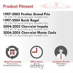Manifold En-tête S/s Avec Tuyau D'échappement Pour Buick Regal / Grand Prix / Impala L67 3.8 V6