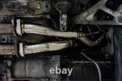 Megan Racing En Acier Inoxydable Header Exhaust Fits Bmw M3 E46 00-06 Mr-ssh-be46m3