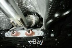 Megan Racing Pot D'échappement Vers Le Bas Tuyeau Pour 14-2020 Volkswagen Vw Golf Gti Mk7