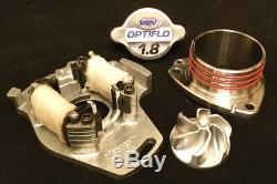 Msv Racing 1985-2001 Honda Cr500 Collecteur D'échappement En Acier Inoxydable 304 Billettes