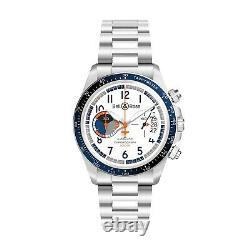 Nouveau Bell & Ross Br V2-94 Racing Bird Steel 41 MM White Watch Brv294-bb-st/sst