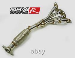 Obx Course Automobile Sport-tête D'échappement En Acier Inoxydable Pour 2011-2019 Ford Focus 2.0l