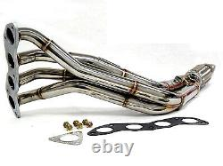Obx Racing Header Pour 2002 2006 Crv, 2.4l (k24ai), 2/4 Deo (4-2-1, 1pc)