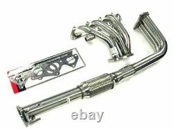 Obx Racing Sports Stainless Header Fits 1990 1991 Honda Prelude Si 2.0l