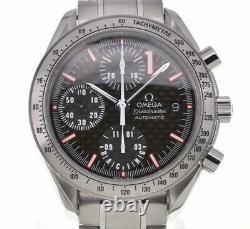 Omega Speedmaster Date Racing Schumacher Carbon Automatic Montre Homme M#103514