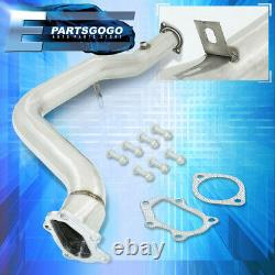 Pour 02-07 Wrx Sti Ej20 / Ej25 3 Acier Inoxydable 5-bolt Bellmouth Turbo Downpipe