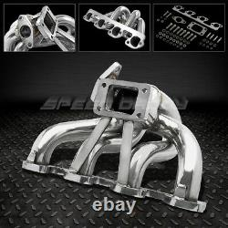 Pour 03-07 Focus/b2300 F23 T3 Stainless Racing Top Mount Turbo Manifold Exhaust