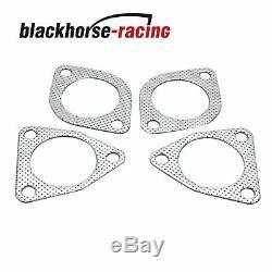 Pour 03-07 Nissan 350z Infiniti G35 Racing + Y Tuyeau Echappement + Pipe Coude D'echappement