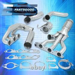 Pour 04-05 Chevy Impala Monte Carlo 3.8 En-têtes D'échappement Supercharged Steel Racing