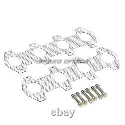 Pour 04-10 Ford F150 5.4 Acier Inoxydable Racing En-tête Du Collecteur D'échappement + MI Tuyau