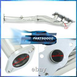 Pour 06-13 Bmw E82 E90 E92 128i 328i N52 I6 Steel Performance Exhaust Headers Kit