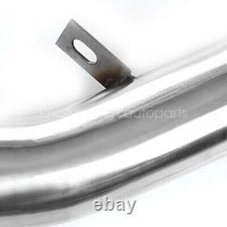 Pour 08-15 Subaru Wrx/sti Ge/gt Ej Stainless Racing Turbo Downpipe Exhaust