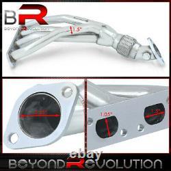 Pour 2002-2006 Mini Cooper S Bmw R53 1.6l Racing Exhaust T-304 S/s Tubular Header