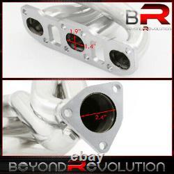 Pour 2003-2006 Nissan 350z G35 Vq35de 3.5l V6 S/s Racing Headers Exhaust Manifold