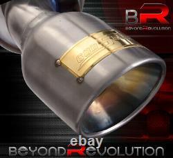 Pour 2003-2008 Infiniti G35 V35 3.5l Stainless Steel Exhaust Muffler Gunmetal Tip