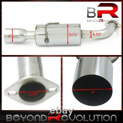 Pour 2004-2008 Maxima 3.5l V6 Racing Dual Exit Catback Exhaust Muffler 4 Tip Kit