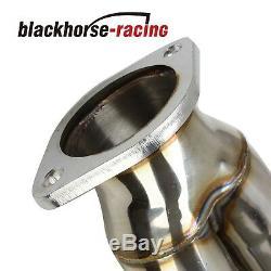 Pour 370z Z34 / G37 V36 Vq37vhr 16/08 Inoxydable De Course X / Y-tuyau / Tube De Descente D'échappement
