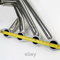Pour 396/402/427/454 Big Block Bbc V8 Exhaust Manifold Long Tube Racing Header