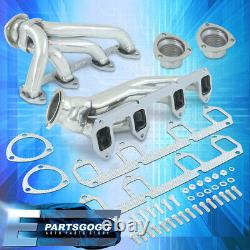 Pour 57-67 Ford Big Block Fe 332-427 Bbc Steel Exhaust Performance Shorty Headers