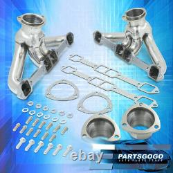 Pour 59-78 Chrysler Dodge Hemi Bb 383-440 V8 Steel Ehaust Racing Header Manifold