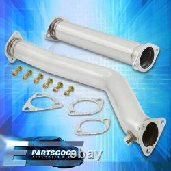 Pour 86-92 Mazda Rx7 Fc3s Jdm Stainless Steel Racing Performance Downpipe Exhaust