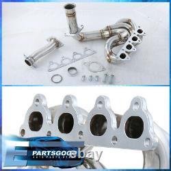 Pour 88-00 CIVIC Crx Delsol Série D Sohc Jdm Performance Exhaust Header Manifold