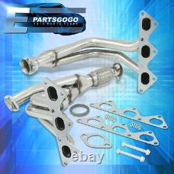 Pour 91-99 3000gt / 91-96 Stealth 3.0 6g72 N/a V6 Stainless Racing Exhaust Header
