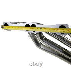 Pour 93-97 Camaro/firebird 5.7 Lt1 Racing/performance Exhaust Header S. Steel 8-2