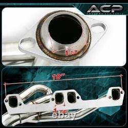 Pour 94 95 96 97 98 99 00 01 02 Dodge Ram 5.2l / 5.9l En-tête D'échappement S/s Racing