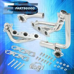 Pour 95-02 Chevy Camaro Firebird L36 3.8 V6 Steel Performance Exhaust Headers Kit