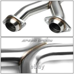 Pour 96-04 Ford Mustang Gt 4.6l 2.25stainless Racing Catback Exhaust X-pipe Kit