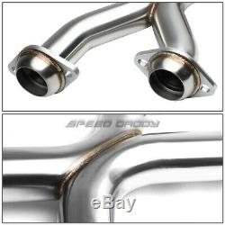 Pour 96-04 Ford Mustang Gt Racing 4.6l 2.25stainless Catback Échappement X-pipe Kit