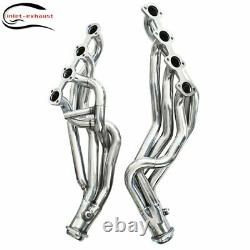 Pour 96-04 Mustang Gt 4.6l V8 Stainless Long Tube Racing Manifold Header/exhaust