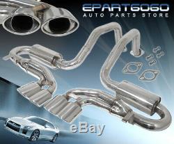 Pour 97-04 Chevrolet Corvette C5 Z06 Performance Échappement En Acier Inoxydable Catback
