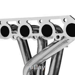 Pour 98-02 Ford Escort Zx2 S / R 2.0 En Acier Inoxydable Racing-tête / Collecteur D'échappement