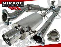 Pour 98-02 Honda Accord LX DX Ex L4 2.3l 4cyl 2.5 3pc Système D'échappement Catback