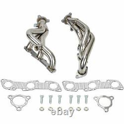 Pour 98-04 Nissan Frontier/pathfinder V6 Stainless Racing Header Exhaust Manifold