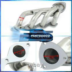 Pour 99-05 Chevy Silverado Sierra 4.8l 5.3l Steel Exhaust Racing Header Manifolds