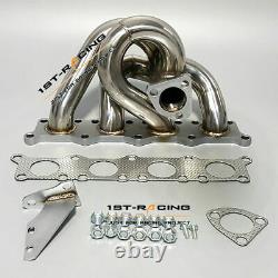 Pour Audi A4 /vw Passat 1.8t 210hp Racing Turbo Exhaust Multiple Header Stainless