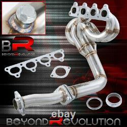 Pour CIVIC / Crx / Del Sol D-series Sohc Sooless Steel Exhaust Header