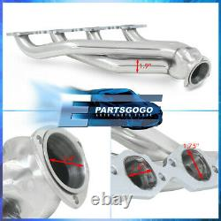 Pour Chevy 396 402 427 454 502 Big Block V8 Steel Échappement Racing Header Manifolds